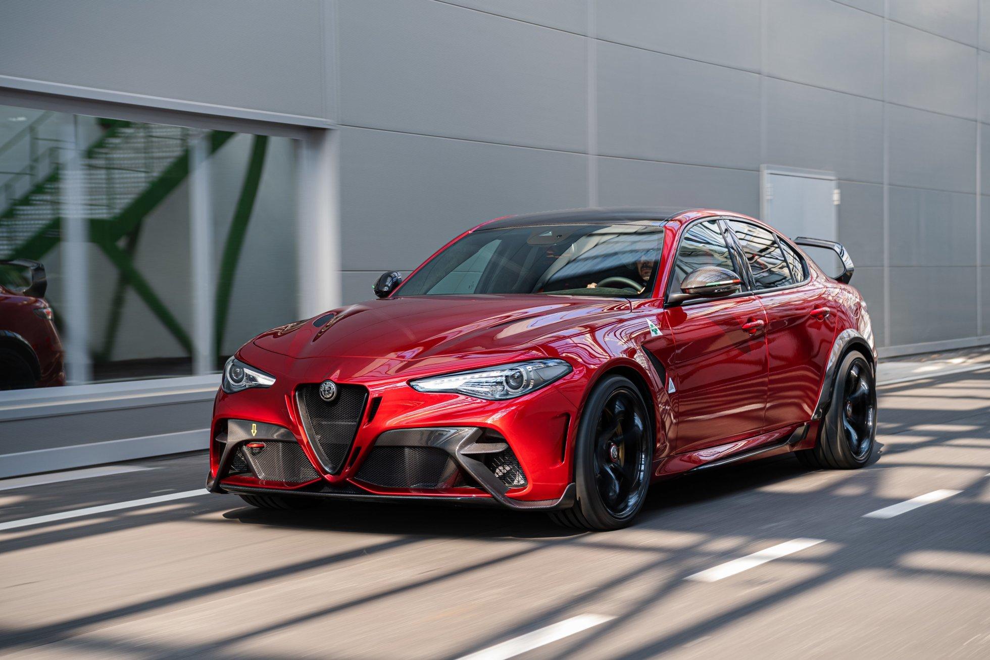 Alfa Romeo fremviser ny Giulia GTA