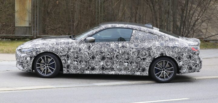 Spionbilleder af ny BMW 4-serie